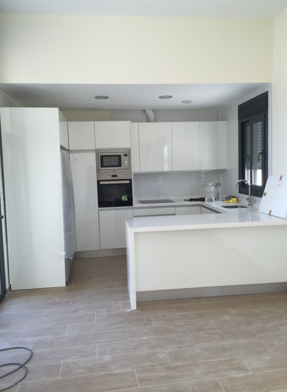 New built kitchen Costa blanca south
